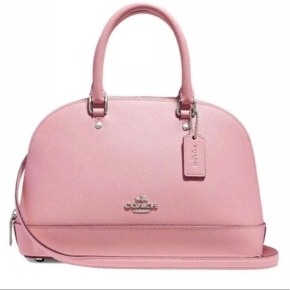 Coach Handbags - NWT mini sierra satchel pink